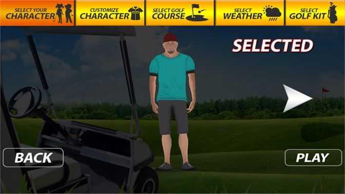 Professional Golf Play 3D