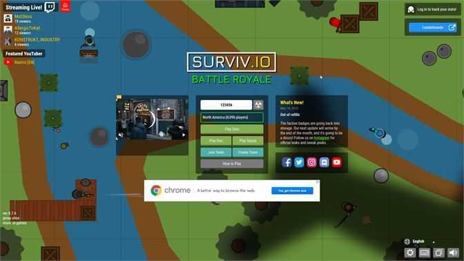Surviv.io Player Pro