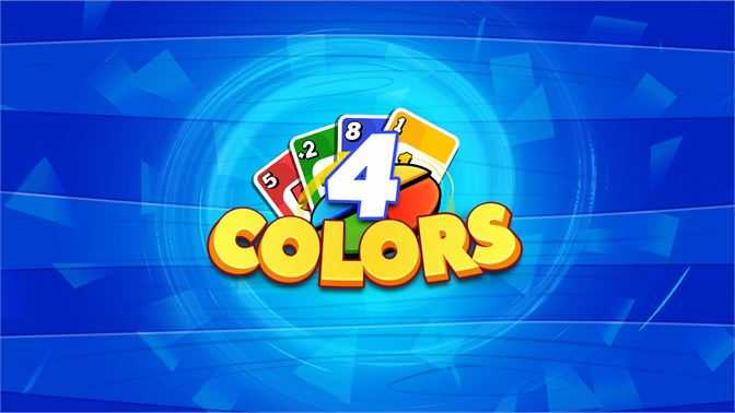 4 Colors Uno Card Game