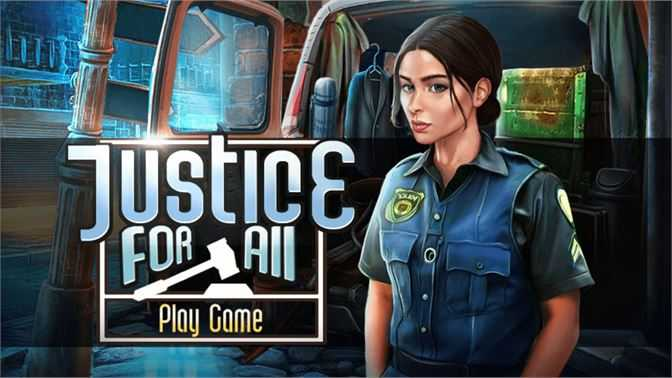Hidden Object : Justice for All