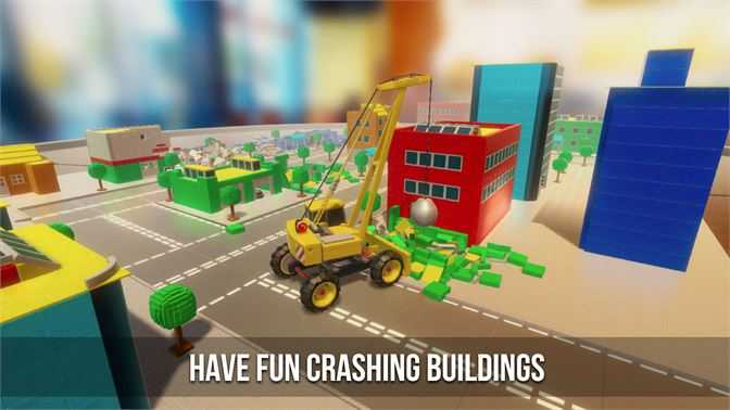 Building Destoyer - Drive and Crash