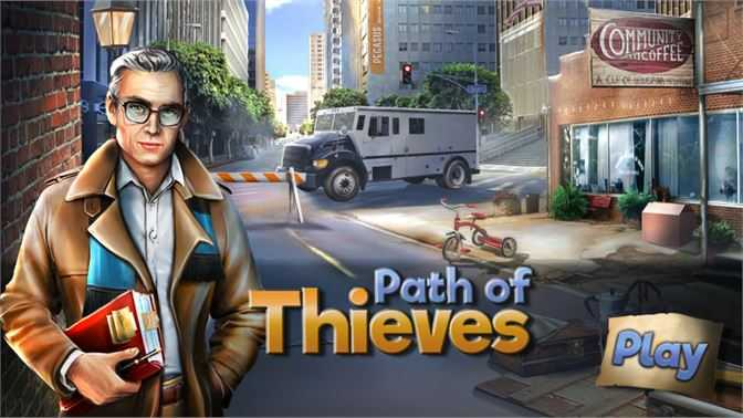 Hidden Object : Path of Thieves