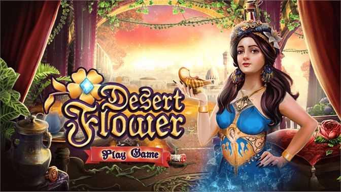 Hidden Object : Desert Flower Magic