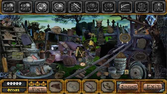 R.I.P. - Hidden Object Games
