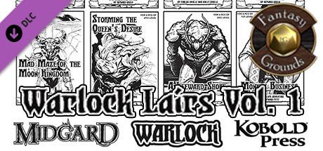 Fantasy Grounds - Warlock Lairs Volume 1 (5E)
