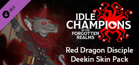 Red Dragon Disciple Deekin Skin Pack