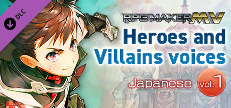 RPG Maker MV - Heroes and Villains voices 【Japanese】vol.1