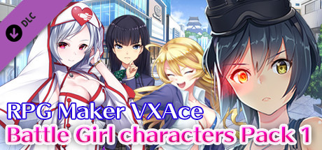 RPG Maker VX Ace - Battle Girl characters Pack 1