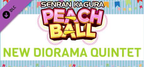 SENRAN KAGURA Peach Ball - New Diorama Pose Quintet