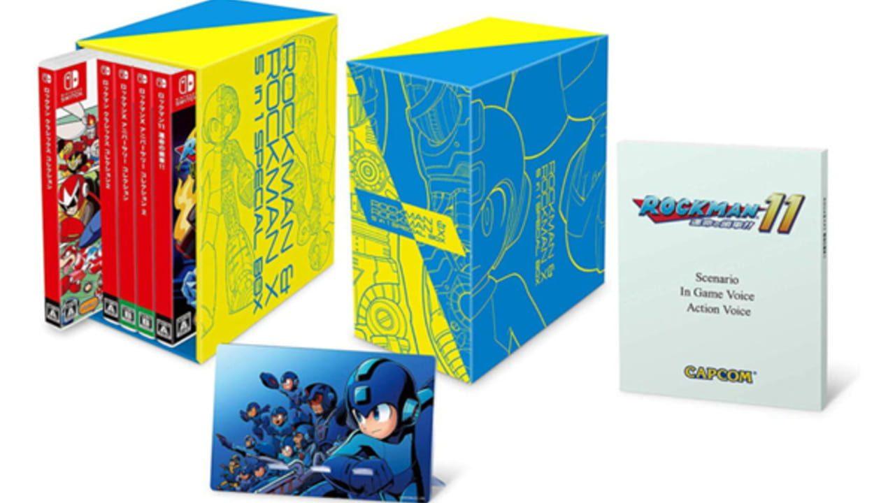 Mega Man & Mega Man X 5in1 Special Box