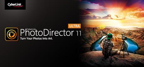 CyberLink PhotoDirector 11 Ultra - Photo editor, photo editing software