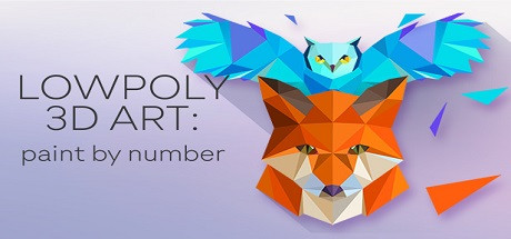 LowPoly 3D Art Paint by Number