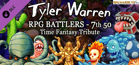 RPG Maker VX Ace - Tyler Warren RPG Battlers 7th 50 - Time Fantasy Tribute