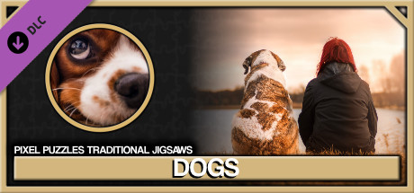 Pixel Puzzles Traditional Jigsaws Pack: Dogs