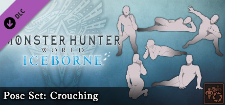 Monster Hunter: World - Pose Set: Crouching