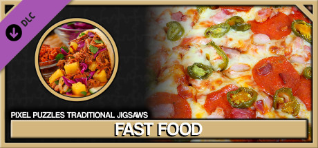 Pixel Puzzles Traditional Jigsaws Pack: Fast Food