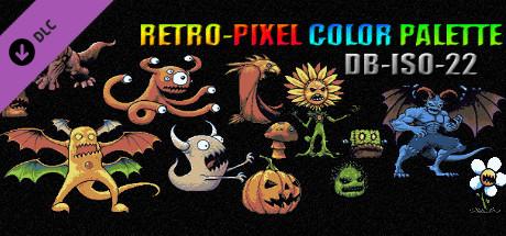 RETRO-PIXEL COLOR PALETTE - DB-ISO-22