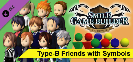 SMILE GAME BUILDER Type-B Friends with Symbols