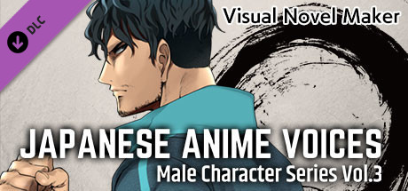Visual Novel Maker - Japanese Anime Voices:Male Character Series Vol.3