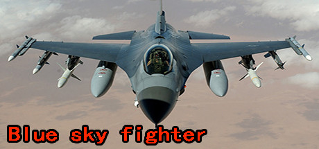 Blue sky fighter