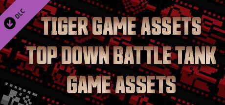 TIGER GAME ASSETS TOP DOWN BATTLE TANK GAME ASSETS