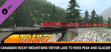 Trainz 2019 DLC - Canadian Rocky Mountains Viktor Lake to Ross Peak and Glacier