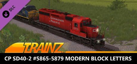 Trainz 2019 DLC - CP SD40-2 #5865-5879 Modern Block Letters
