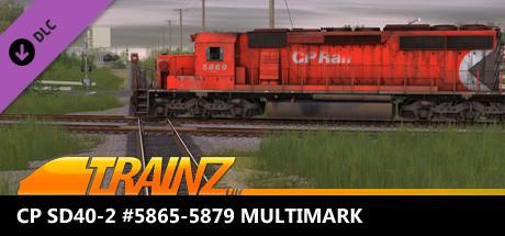 Trainz 2019 DLC - CP SD40-2 #5865-5879 Multimark
