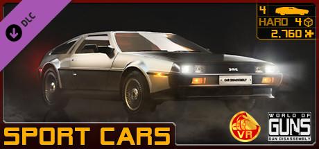 World of Guns VR: Sport Cars Pack