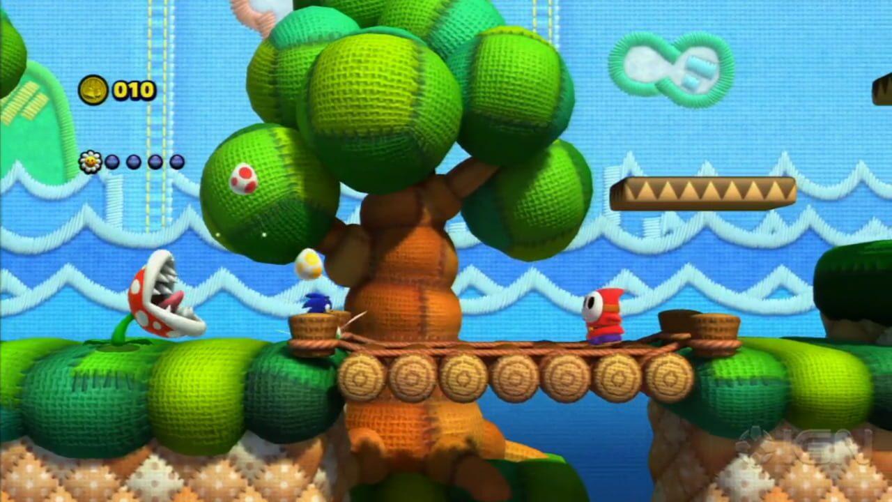 Sonic Lost World: Yoshi's Island Zone