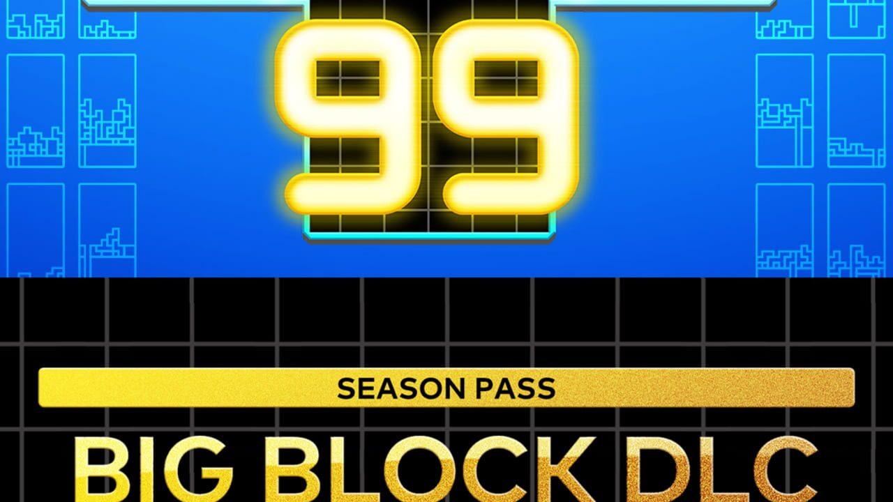 Tetris 99: Big Block DLC