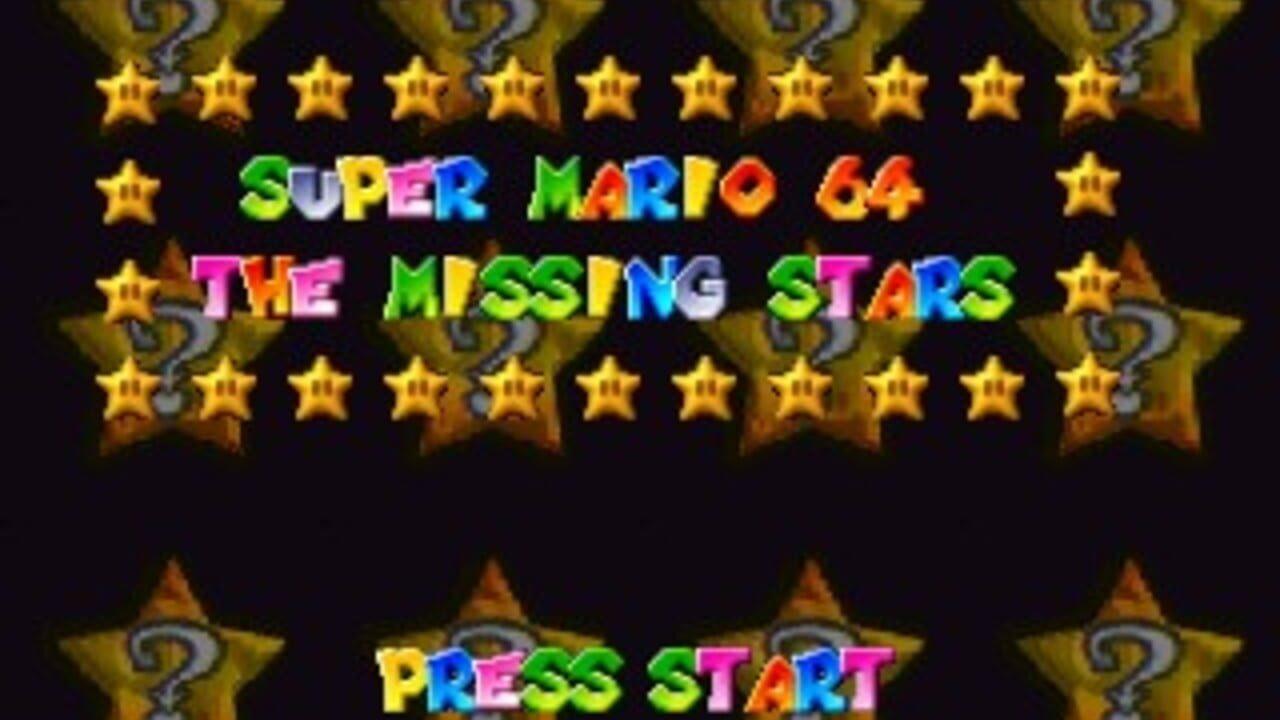 Super Mario 64 The Missing Stars