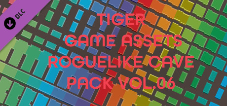 TIGER GAME ASSETS ROGUELIKE CAVE PACK VOL.06