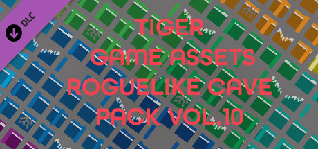 TIGER GAME ASSETS ROGUELIKE CAVE PACK VOL.10