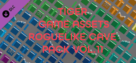 TIGER GAME ASSETS ROGUELIKE CAVE PACK VOL.11