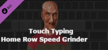 Touch Typing Home Row Speed Grinder - iReact Freddy Krueger Nightmare Custom Art Keyboard