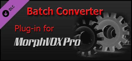 MorphVOX Pro - File Batch Converter