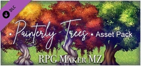 RPG Maker MZ - Painterly Trees Asset Pack