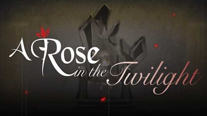A Rose in Twilight