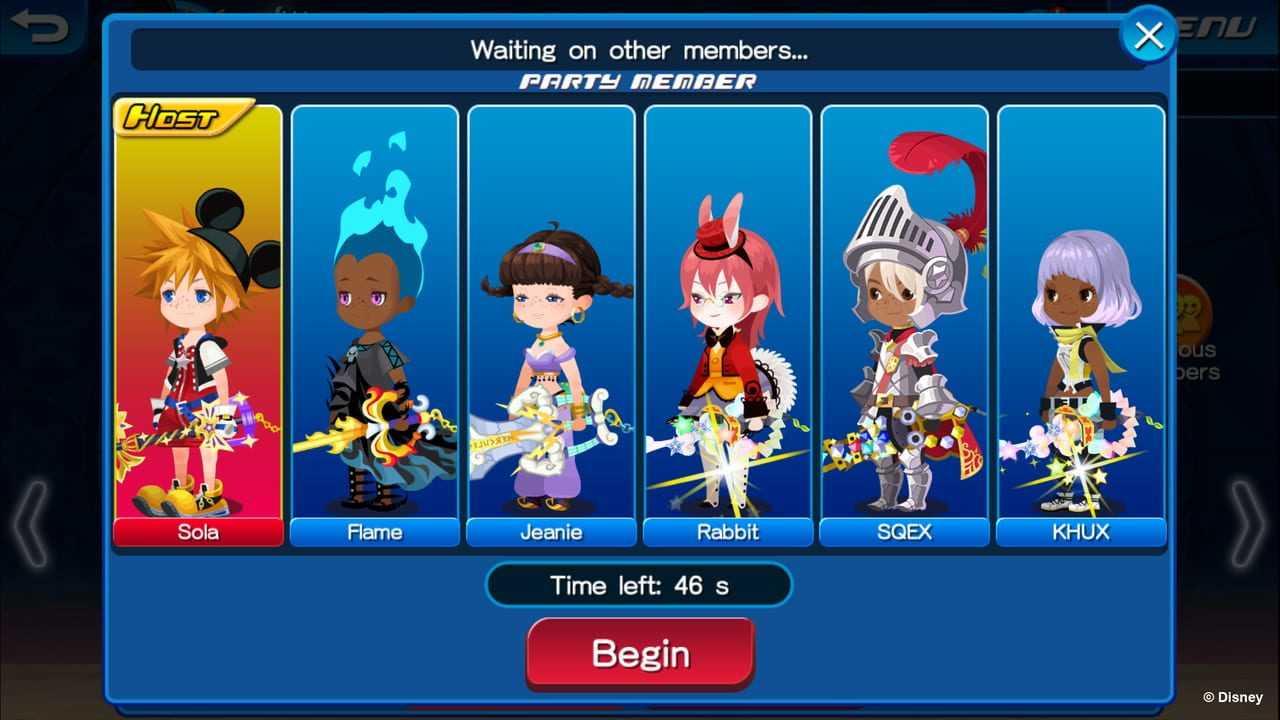 Kingdom Hearts: Union X