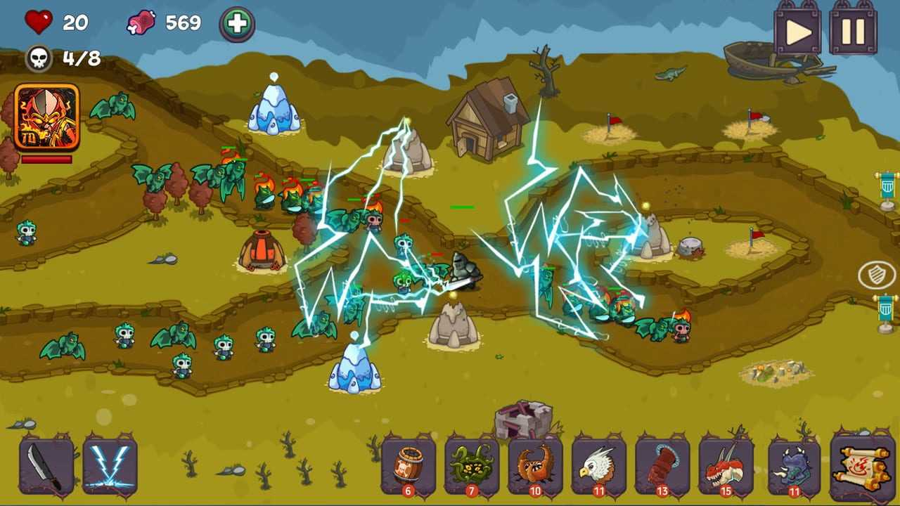 Tower Defense - Fantasy Tower Game