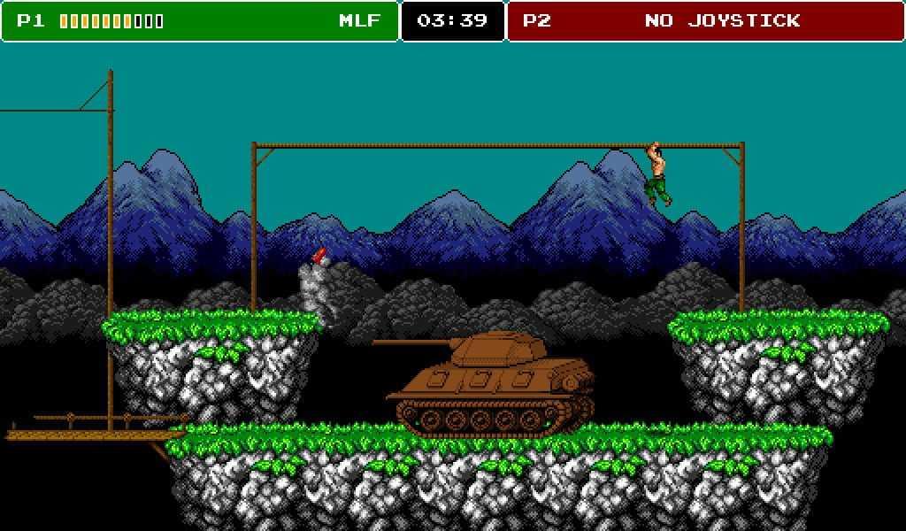 8-bit Commando