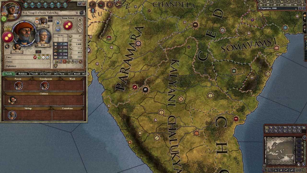 Crusader Kings II: Rajas of India