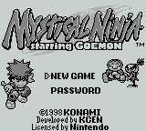Ganbare Goemon: Kurofune Tou no Nazo