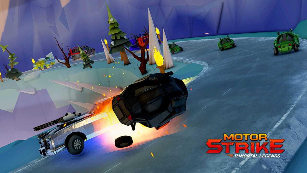 Motor Strike: Immortal Legends