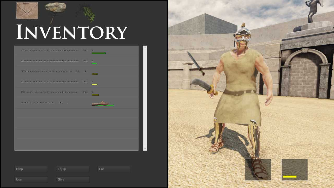Gladiators Of The Arena
