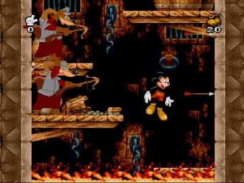Mickey Mania Reviews, News, Descriptions, Walkthrough and System