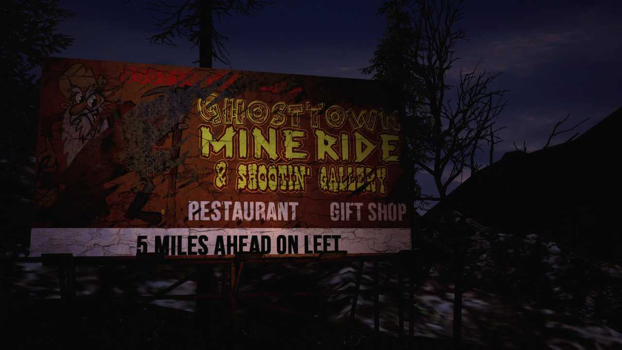 Ghost Town Mine Ride & Shootin' Gallery