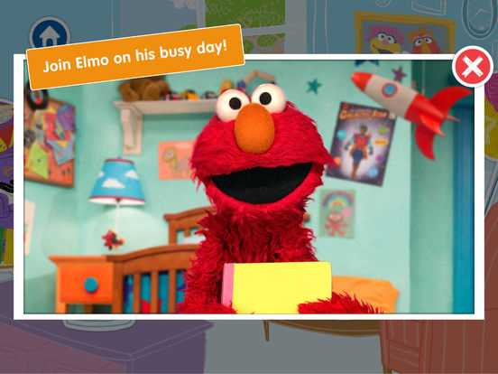 A Busy Day for Elmo: Sesame Street Video Calls