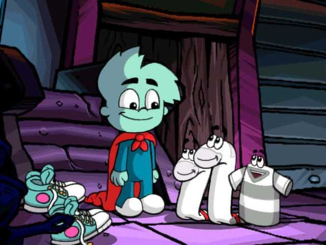 Pajama Sam 4: Life Is Rough When You Lose Your Stuff!